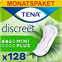 TENA Lady Discreet Mini Plus, Compresas - 128