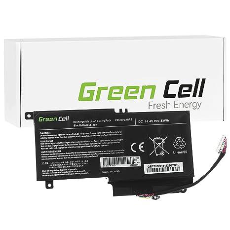Green Cell® Batería para Toshiba Satellite P50-A-12Z Ordenador (3000mAh 14.4