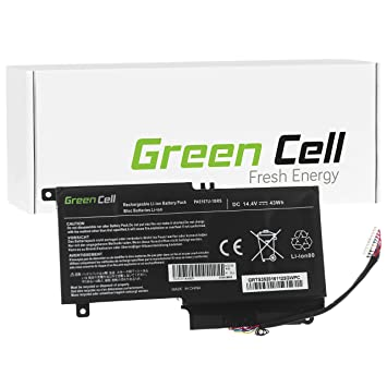 Green Cell® Batería para Toshiba Satellite P50-A-12Z Ordenador (3000mAh 14.4V Negro): Amazon.es: Electrónica