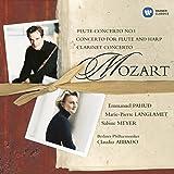 Mozart : Concerto pour flûte n°1 - Concerto pour flûte et harpe - Concerto pour clarinette