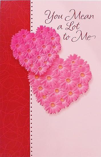 GIRLFRIEND GREETINGS CARDS FEMALE VALENTINES CARD GIRLFRIEND VALENTINES CARD