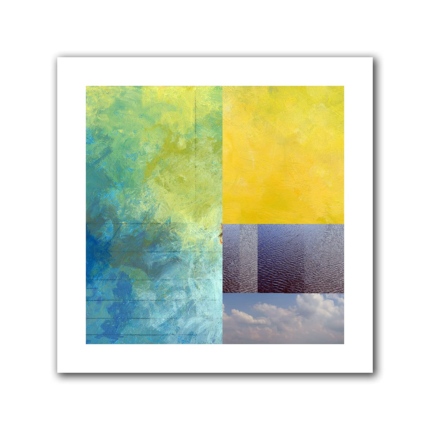 18 by 18-Inch ArtWall Earth Textures Squares I Unwrapped Canvas Art by Jan Weiss