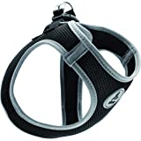 Kruz Reflective Dual Layered Mesh Dog Harness - KZA306 - Heavy Duty, No Pull, Easy Fit - Comfortable, Adjustable…