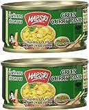 Maesri Thai Green Curry Paste - 4 oz x 2 cans