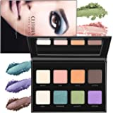 Eyeshadow Palette, CEITURA 8 Colours Eyeshadow Shimmers and Matte Ultra Pigmented Makeup Eye Shadow Powder Long Lasting
