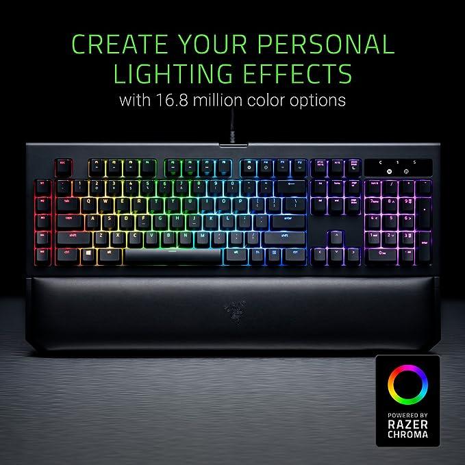 Teclado para juegos táctil y mecánicos Razer RZ03-01703300-R3W1 Blackwidow Ultimate 2017 RGB RGB V2: Amazon.es: Informática
