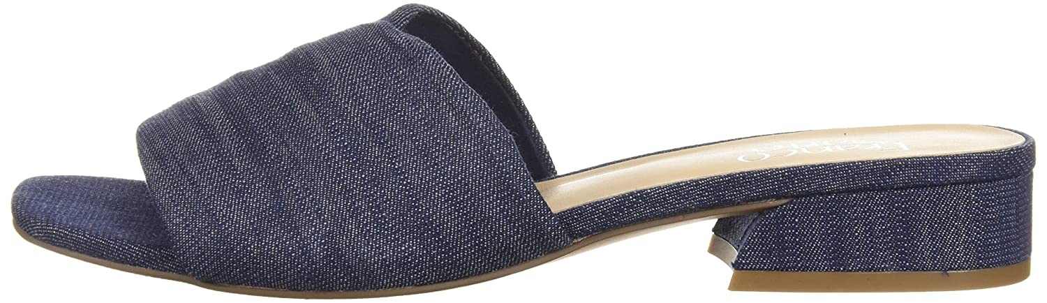 Franco Sarto Women's Frisco Slide Sandal B0771WBSRF 10.5 B(M) US|Denim
