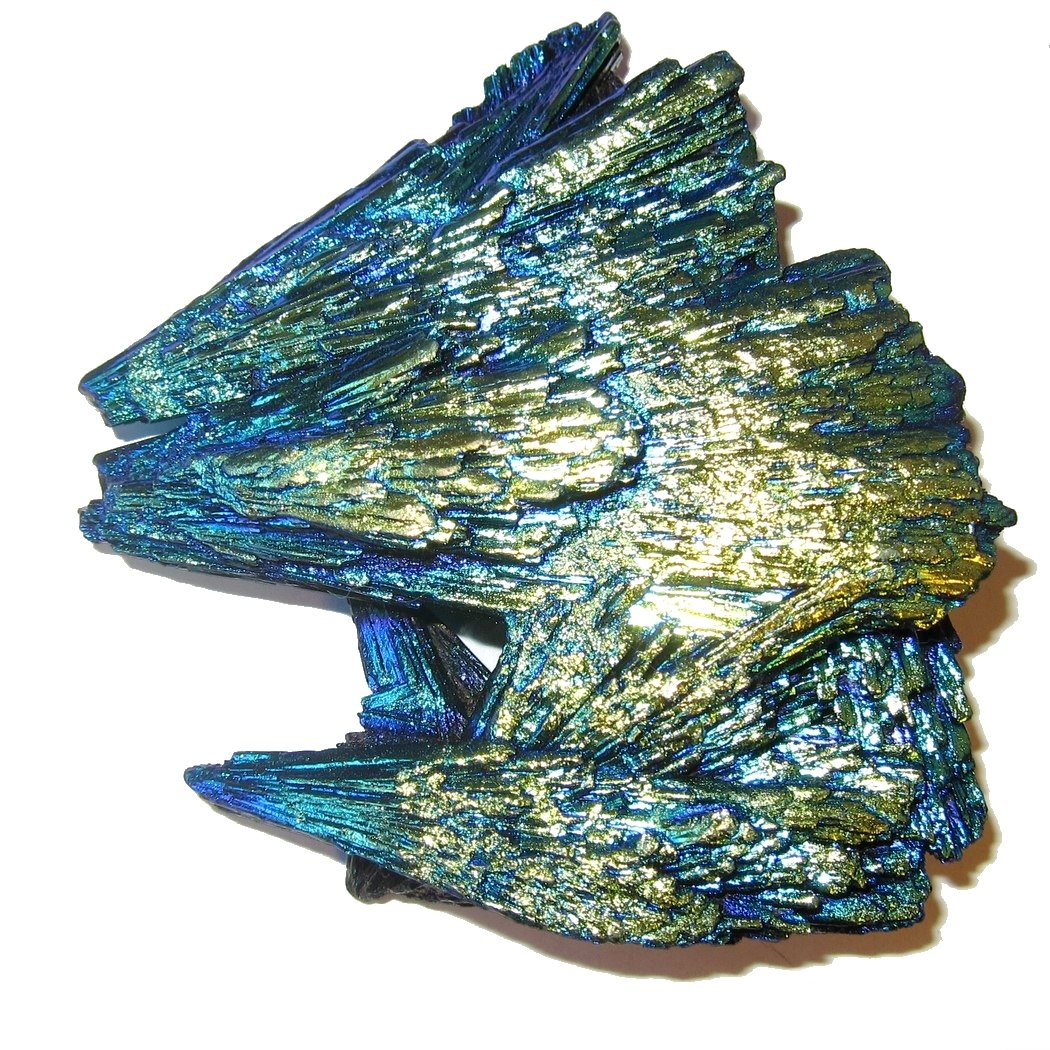 Satin Crystals Kyanite Cluster 3.2'' Collectible Titanium Stone Eagle's Nest Howling Wolves Rock Gemstone C05