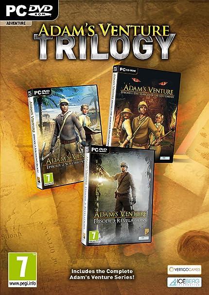 Amazon.com: Venture Trilogy de Adán (Países Bajos): Toys & Games