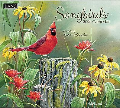 Lang Calendar 2021 Amazon.: LANG Songbirds 2021 Wall Calendar (21991001880