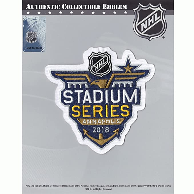 a338f51b6 2018 NHL Stadium Series Toronto Maple Leafs Washington Capitals Jersey Patch   Amazon.co.uk  Sports   Outdoors
