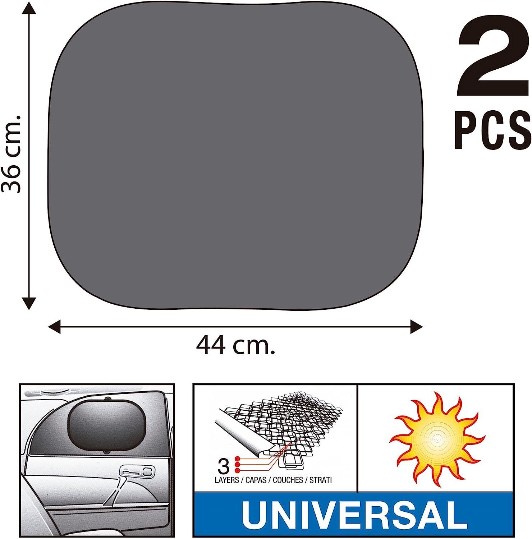 50X100 cm Nero Sumex 4410009 Parasoli Laterali