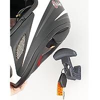 Houder voor motorhelm, kleerhanger voor motorhelm, haken voor het ophangen van motorhelm en wandjas.