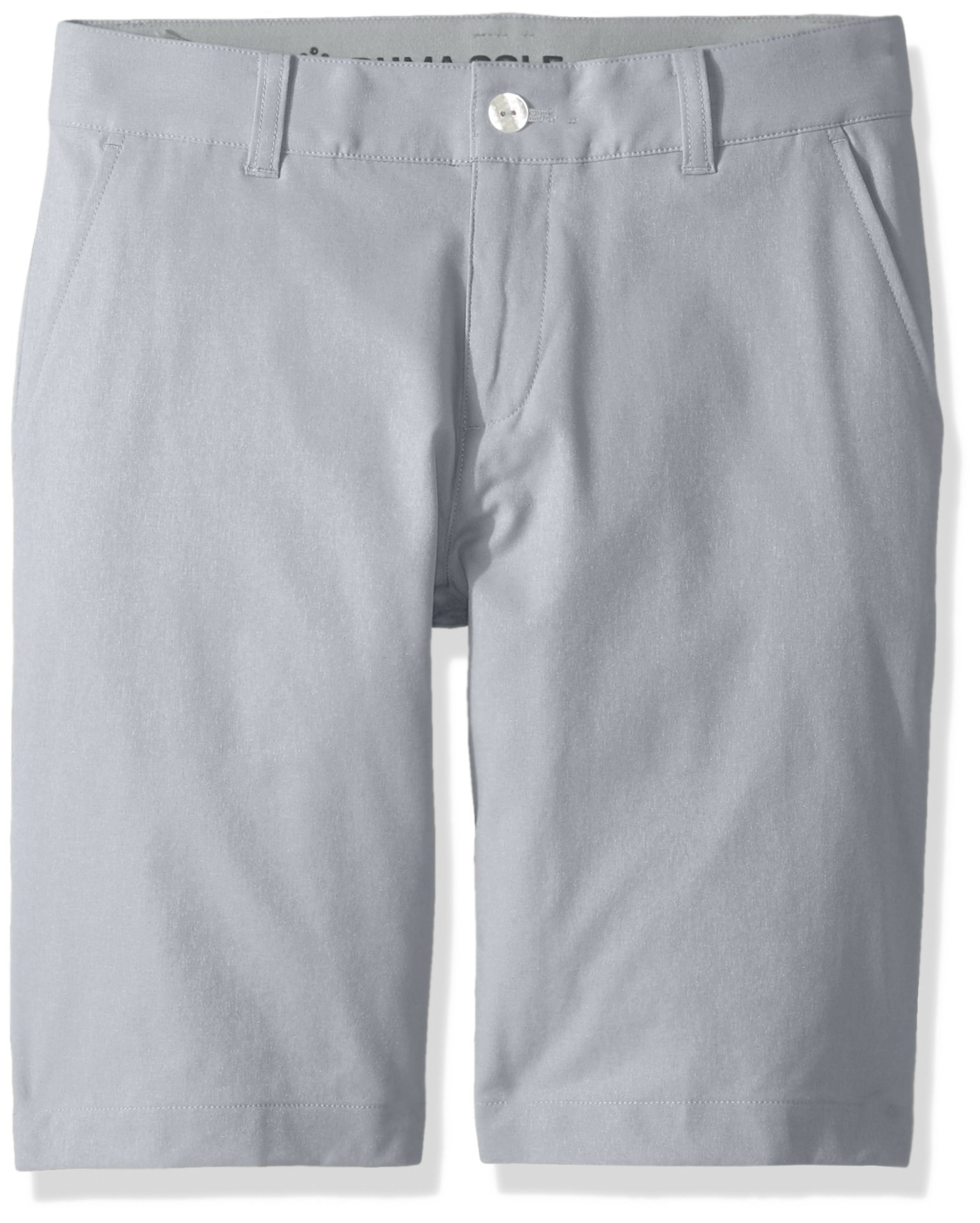 PUMA Golf Teen 2018 Boy's Heather Pounce Short, Quarry, X-Large by PUMA