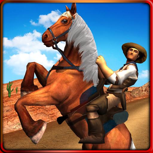 Texas Wild Horse Race 3D (Race Horse Wild)