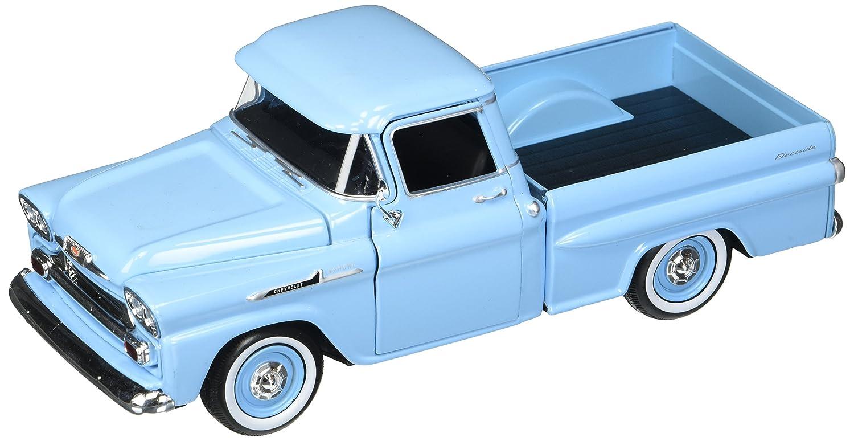 Motor Max 1 24 W B American Classics 1958 Chevrolet Apache Fleetside Pickup Diecast Vehicle