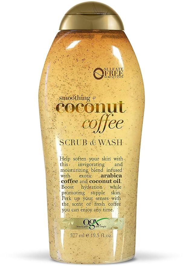 Amazon Com Ogx Coconut Coffee Body Wash 19 5oz 19 5 Oz Beauty
