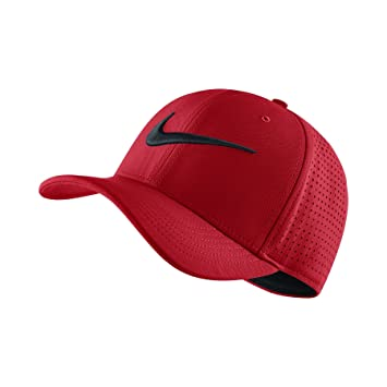 best service 0ac86 91202 ... new arrivals nike mens air vapor classic 99 fitted dad hat university  red black 803933 657