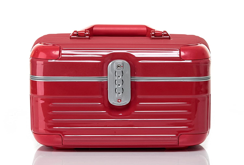 Amazon.com: hoyofo Lockable cosmético tren Caso bolsa de ...