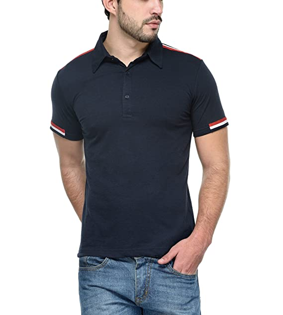 c892ac0293807 Teesort Men s Cotton Polo T-Shirt  Amazon.in  Clothing   Accessories