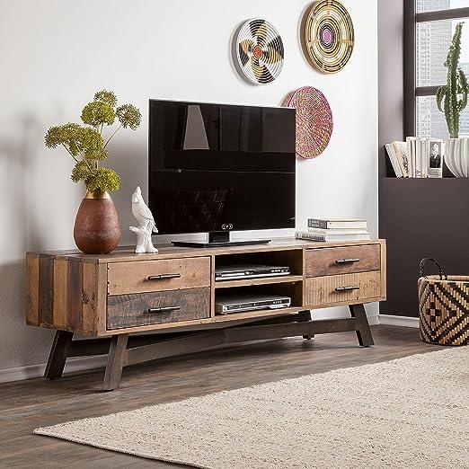 the attic retro standard 2 drawer tv cabinet TV   Entertainment Units