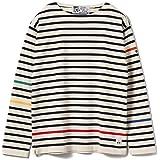 (ビームスライツ) Fileuse d'Arvor × BEAMS LIGHTS (フィルーズダルボー) / 別注 ニット カラー切り替えバスクシャツ メンズ