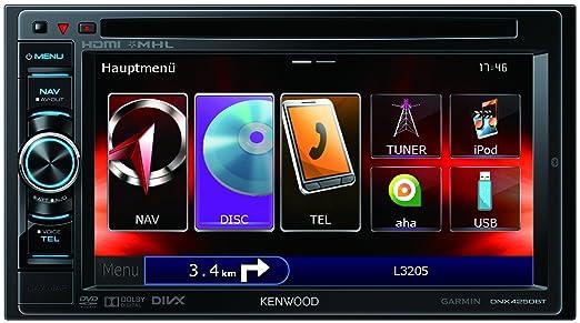 Kenwood Electronics Dnx4250bt Bluetooth Noir R�cepteur Multim�dia Rhamazonfr: Dnx4250bt Autoradio Multim Dia Bluetooth Achat Vente At Elf-jo.com