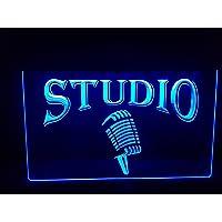 Studio lichtbord LED nieuw schild winkel reclame neon neon schild BAR DISCO ON Air TV radio