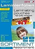 Genie Laminierfolien-Sortimentspack (sortiert) 100 Stück