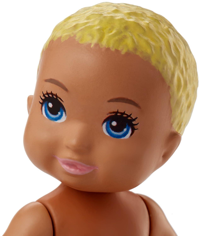 Amazon.es: Bebé Muñeca Rubio | Barbie | Mattel FHY80 | Babysitter | Familia: Juguetes y juegos