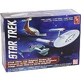 AMT SNAP Star Trek Cadet Series TOS Era Ship Set