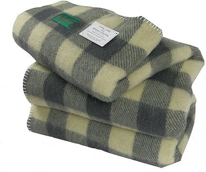 Couverture traditionnelle-100% pure laine