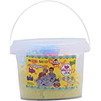 JB Sand Art Container with 8 Moulds, 300g