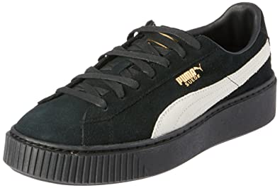 the best attitude ca195 cda7b PUMA Suede Platform FL Womens Trainers 364718 Sneakers Shoes