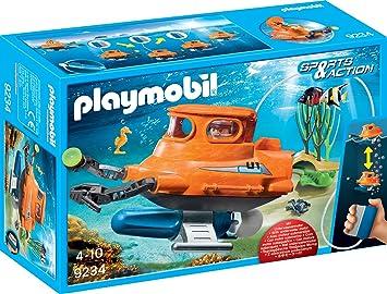 Playmobil 9234 U Boot Mit Unterwassermotor Amazon De Spielzeug