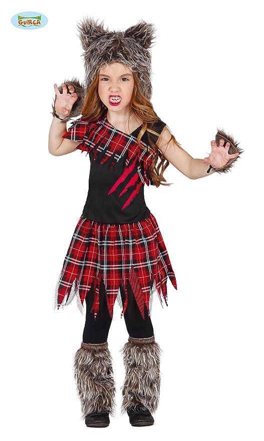 Niños Disfraz - Wolf niña - , Escocés Scotish Girl Hombre ...