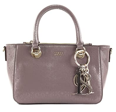 GUESS Tamra Small Society Satchel Taupe: Amazon.co.uk: Shoes