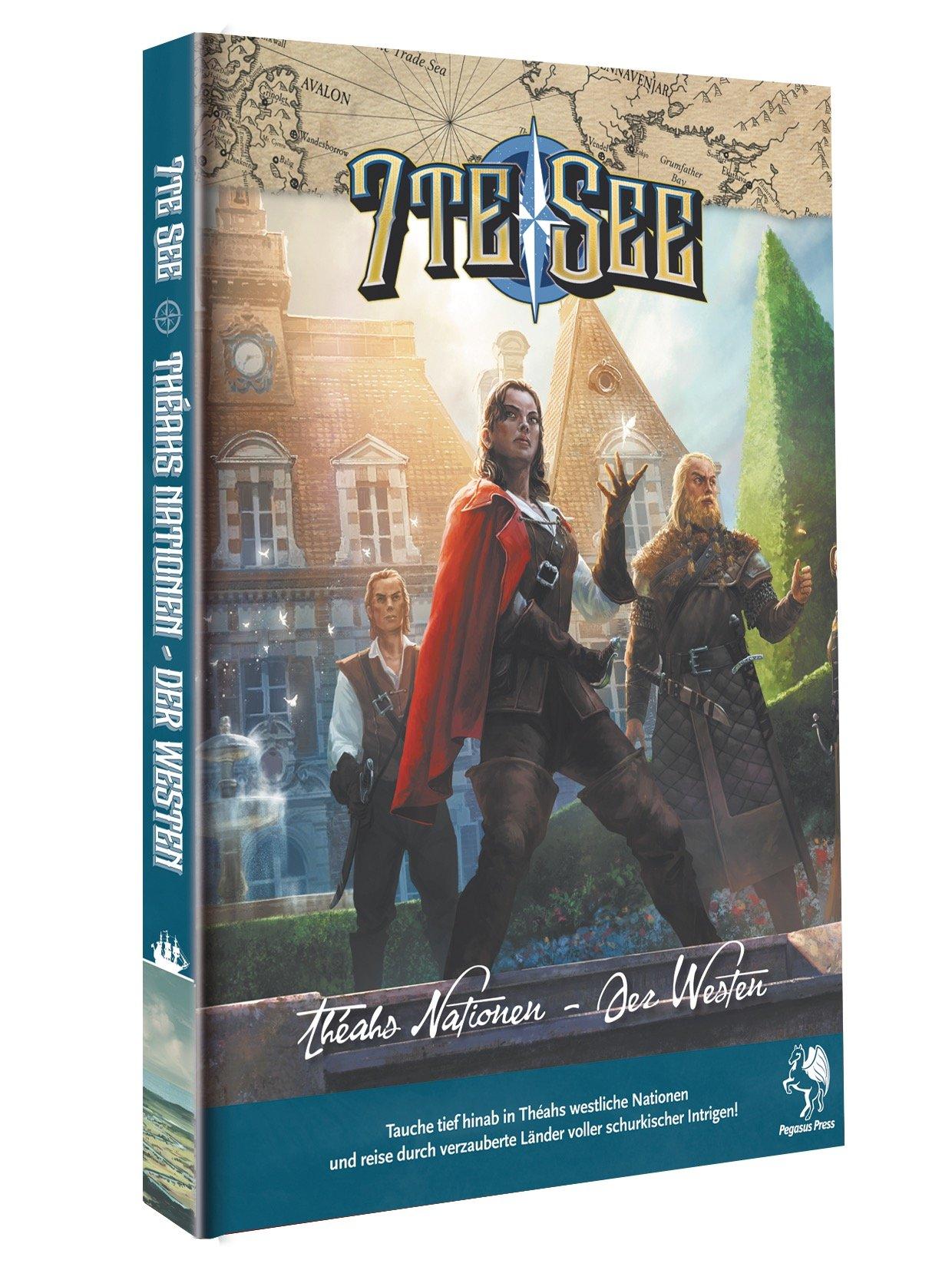 7te See Nationen von Théah Band 1 (Hardcover)