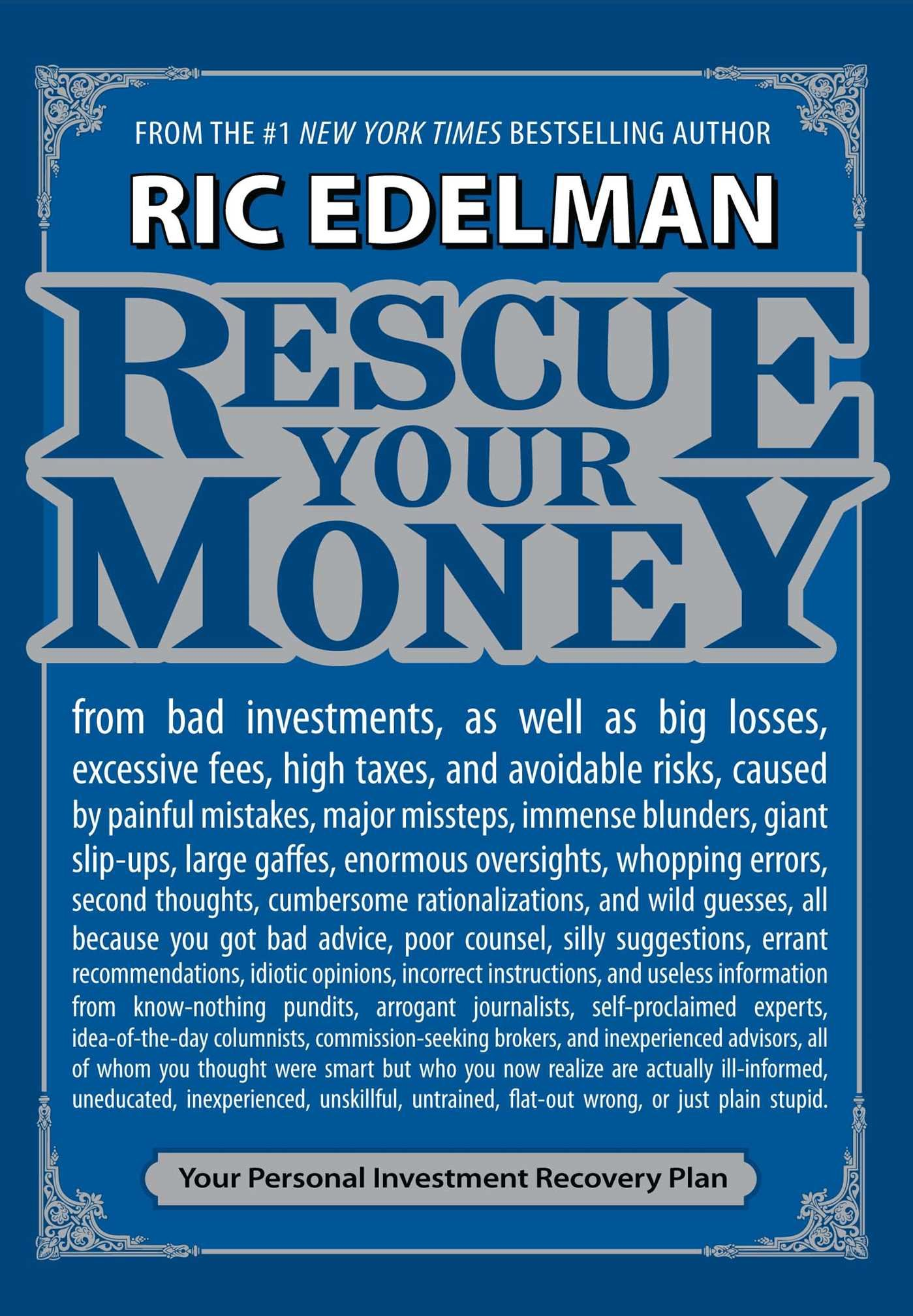 Read Online Rescue Your Money: Your Personal Investment Recovery Plan pdf