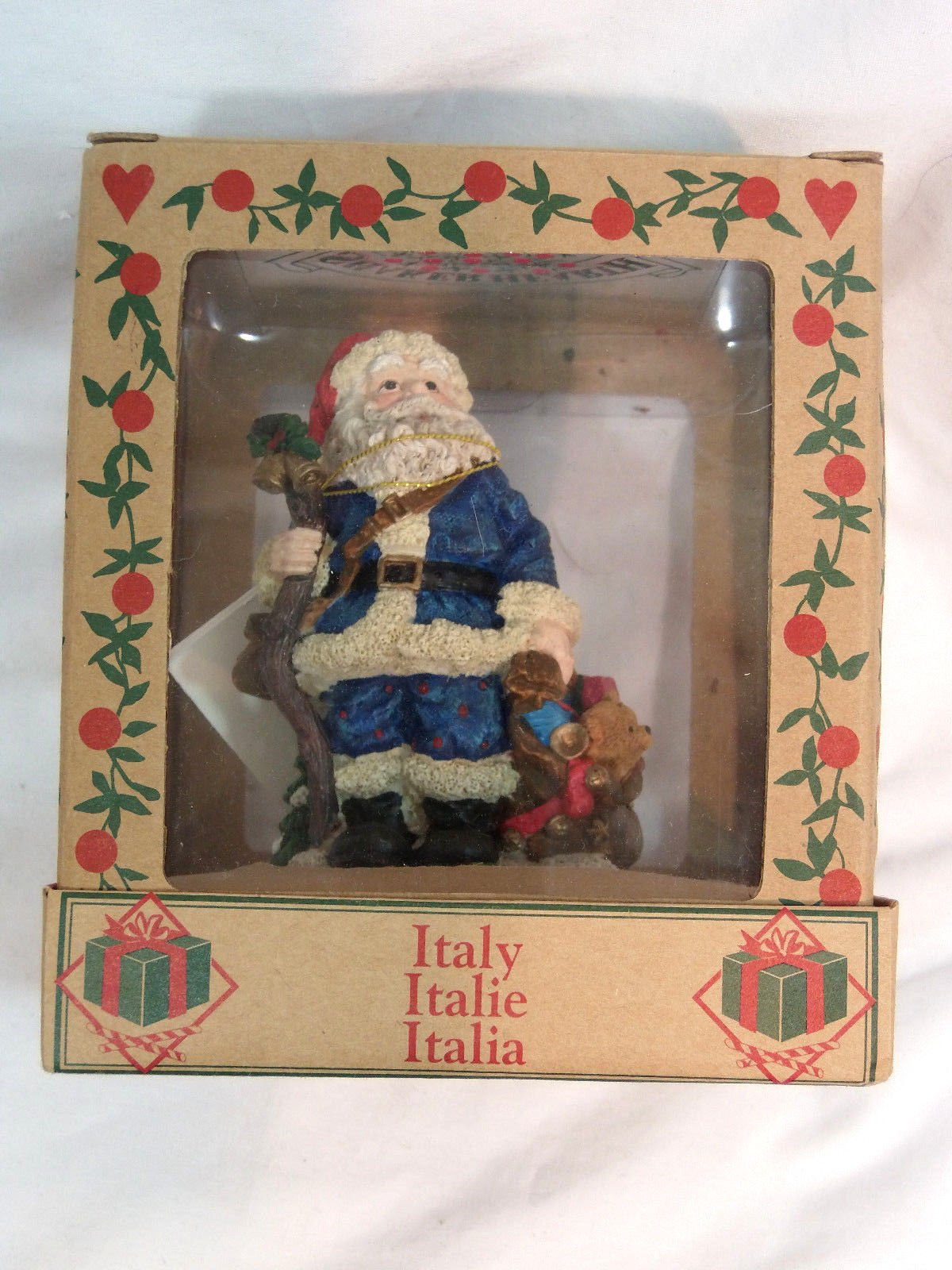 Shaker Hearth Christmas Cookie Stamp Press Santa Claus ITALY Around World Wilton by Shaker Hearth (Image #1)