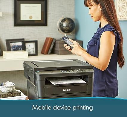 Brother HL-L2380DW Impresora láser monocromática inalámbrica ...