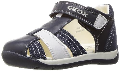 Geox B Each Boy D, Botines de Senderismo para Bebés, Azul (NAVY/WHITEC4211), 25 EU: Amazon.es: Zapatos y complementos