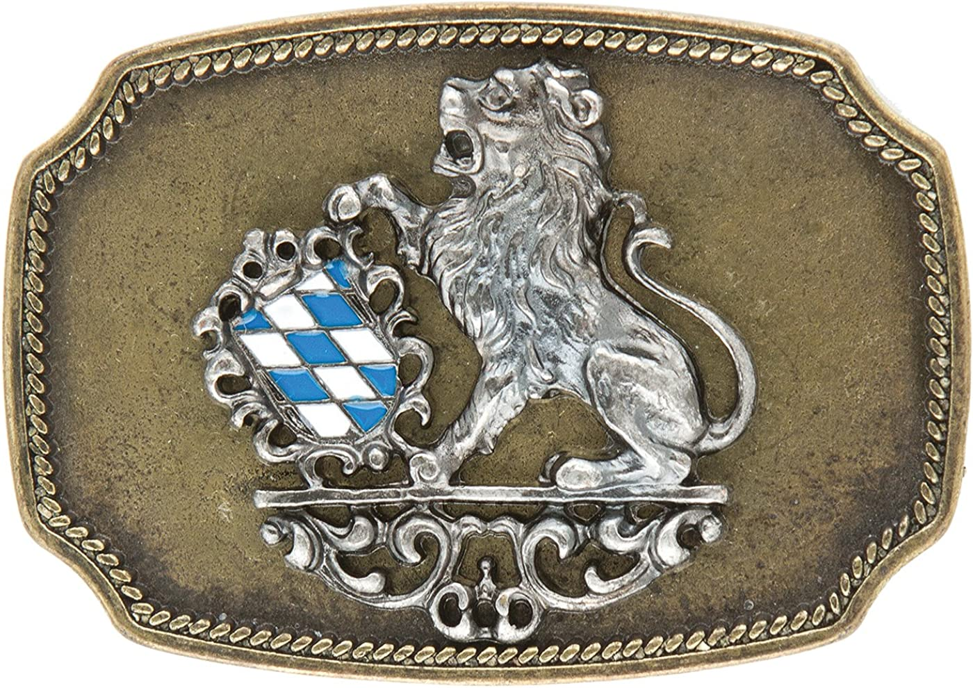 Gürtelschliesse Landeswappen Bayern