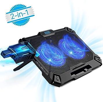 Super Vacuum Fan Para Laptop Velocidad Ajustable Bajo Consumo de Energia