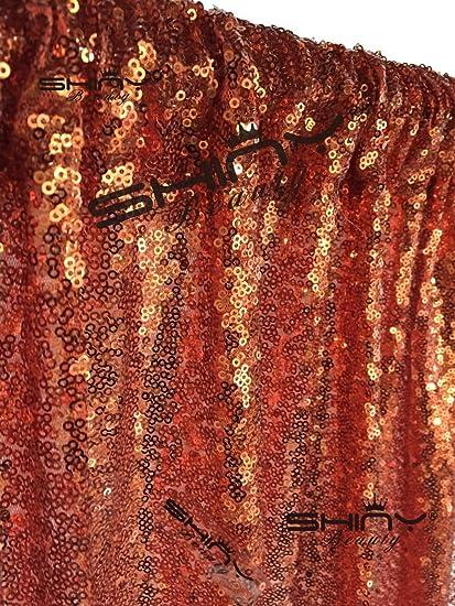 shinybeauty sequin backdrop 10ftx10ft orange sparkly glitz photo booth backdrop for weddingchristmas