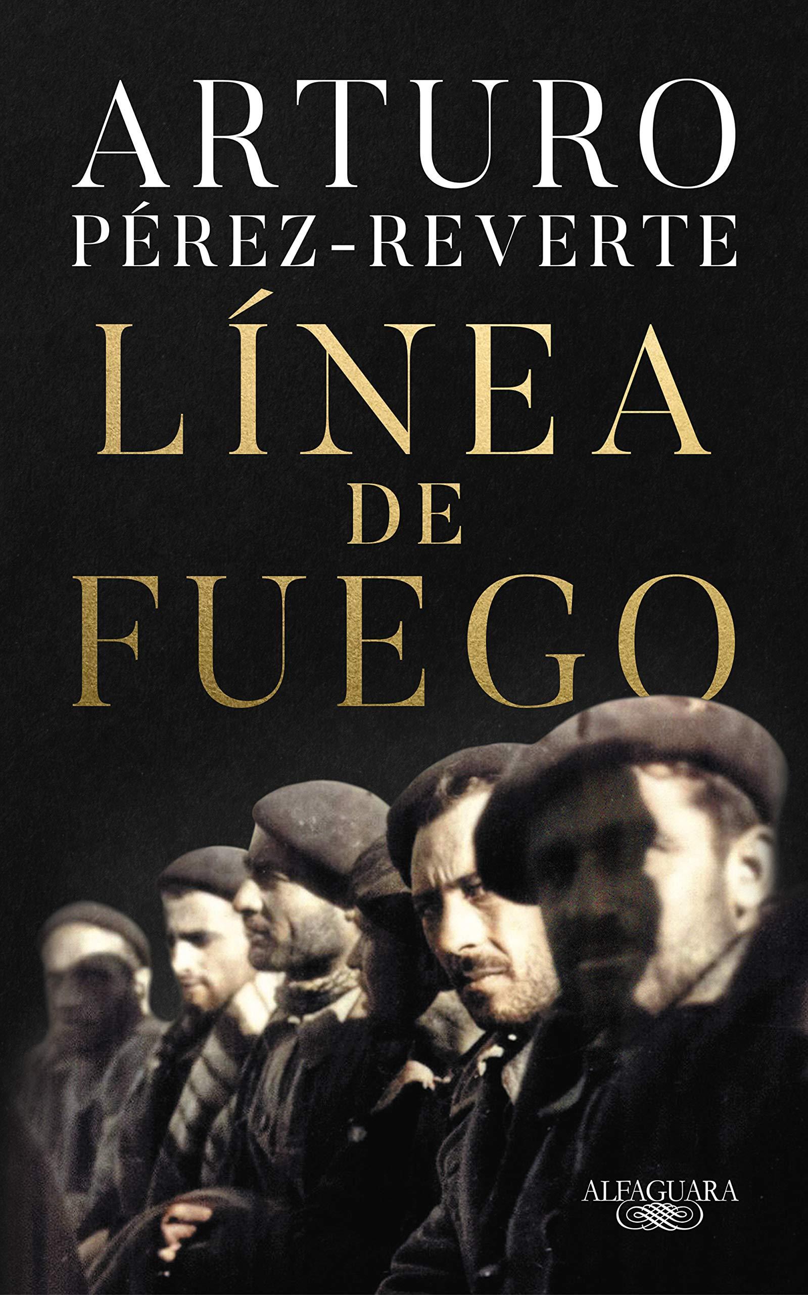 os 5 Mejores Libros Y Más Vendidos Del Corte Inglés  -Línea De Fuego - Arturo Pérez Reverte