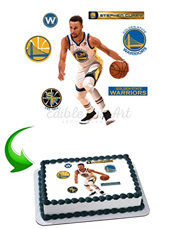d3920aadc871 Stephen Curry Edible Image Cake Topper Icing Sugar Paper A4 Sheet Edible  Frosting Photo Cake 1
