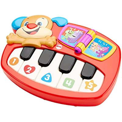 Fisher-Price Laugh & Learn Puppy's Piano: Toys & Games