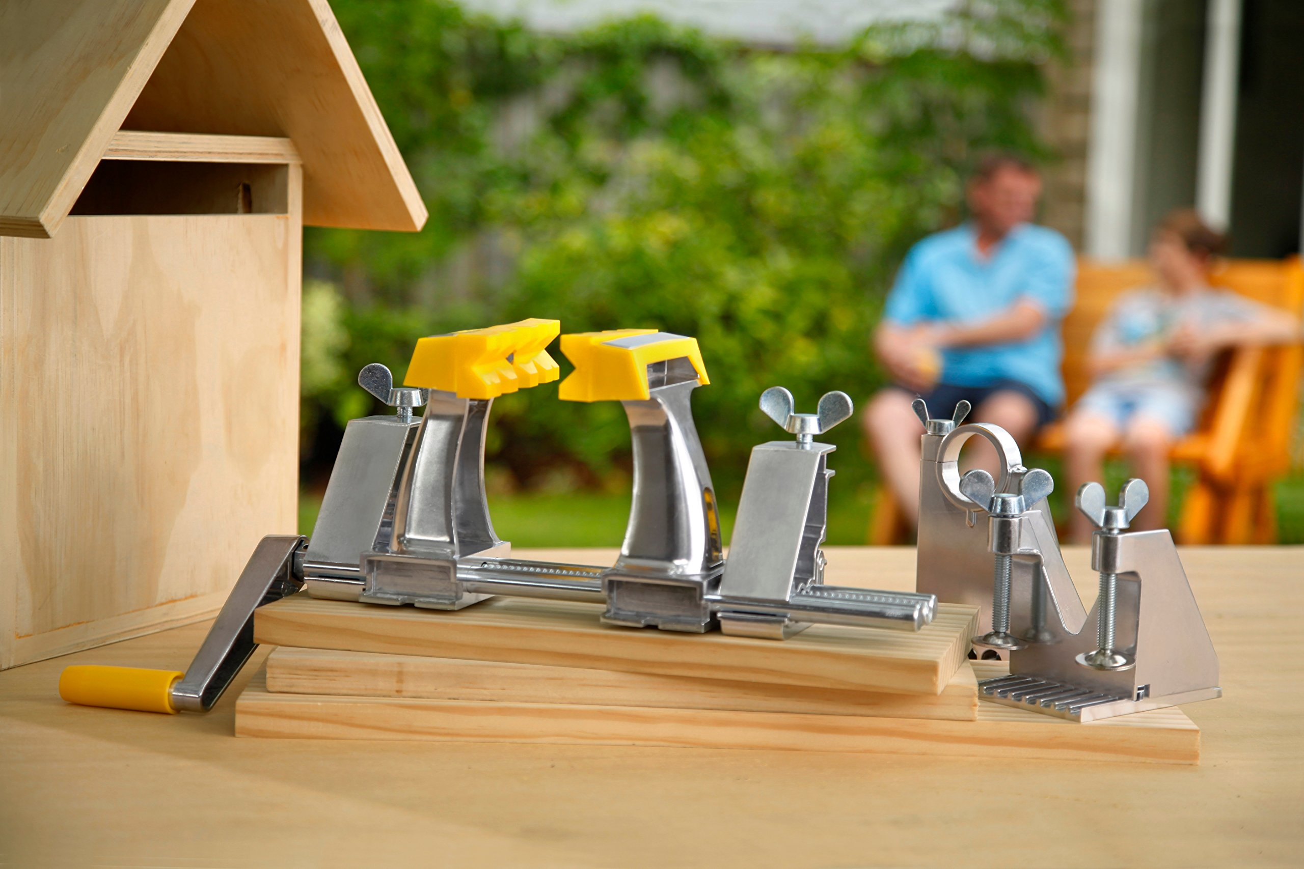 Extra Pair of Hands by Renovator - The World's Most Versatile, Portable, Patented Clamping System That Holds Your Work, So You Can Do Your Work by Renovator (Image #4)