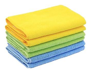 GOLDEN SOURCE - Juego de toallas de baño de lujo, de poliéster, algodón, muy suaves y muy ...
